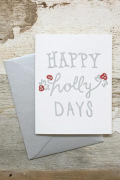 Belle & Union Co. Holly Christmas Cards - Product List Image