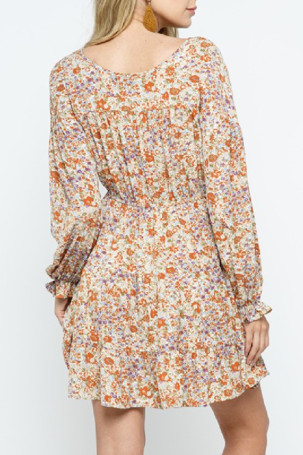 Cozy Casual Belledonna Dress Curvy - Front Full Image