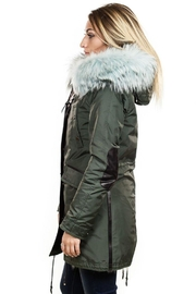 Nicole Benisti Belleville Fur-Lined Parka - Side cropped