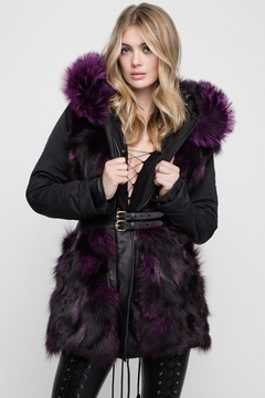 Nicole Benisti Belleville Fur-Lined Parka - Alternate List Image