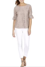 Jade Bellsleeve Laced Top - Product Mini Image