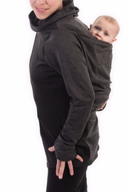 Bellybedaine Kirooo Sweater Grey - Front cropped
