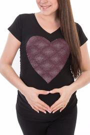 Bellybedaine Lovely Maternity Top - Product Mini Image