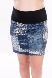 Bellybedaine Maternity Look Jeans Skirt - Product Mini Image