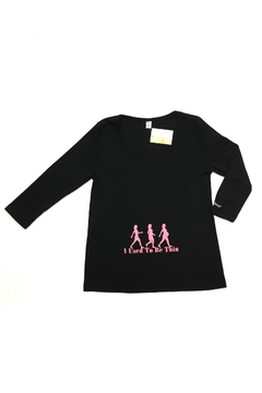 Shoptiques Product: Maternity Graphic 3/4-Sleeve