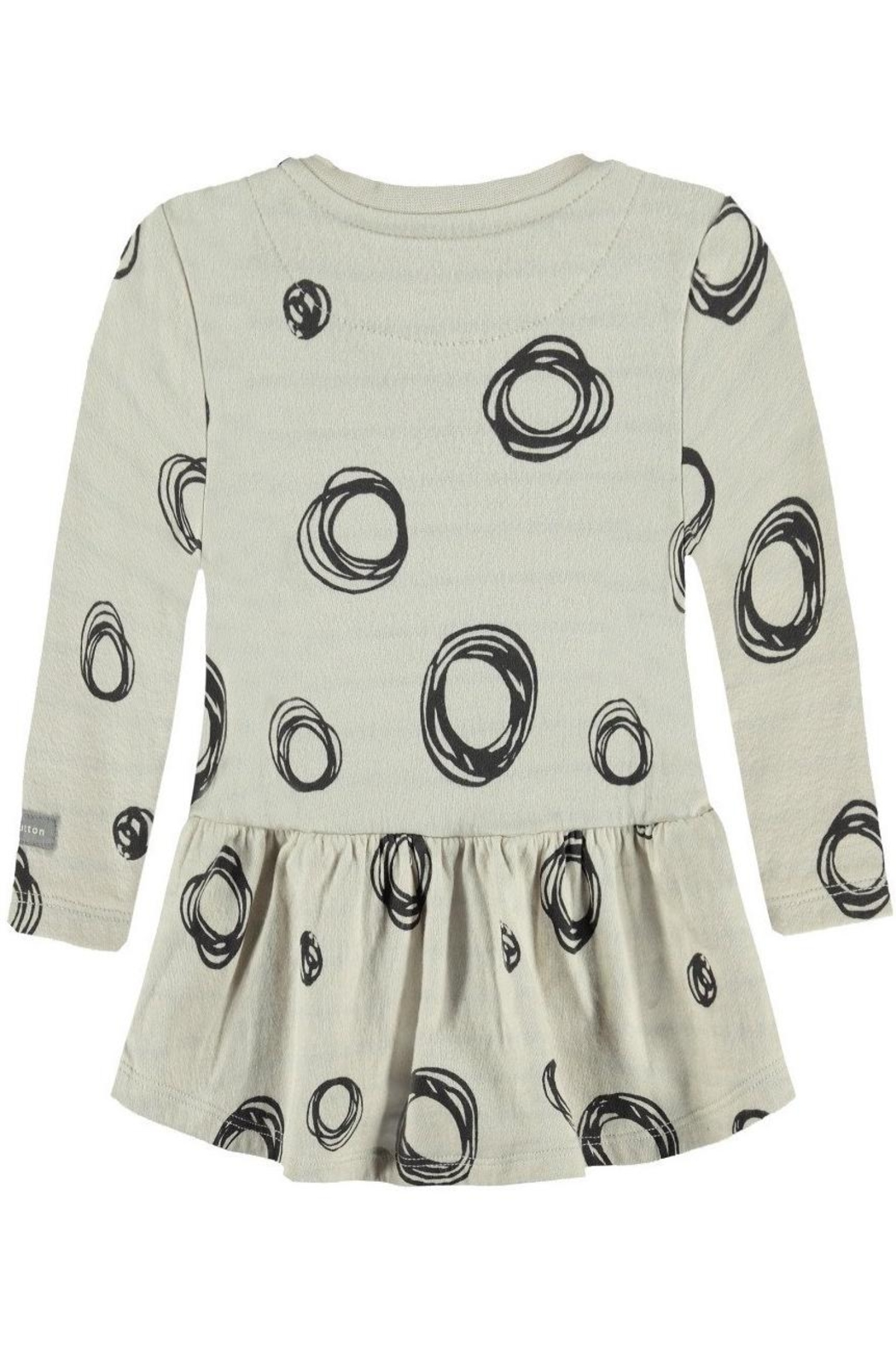 Bellybutton Circle Pattern Dress - Front Full Image