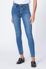 Paige Denim Belmoore Margot Skinny Jean - Front cropped