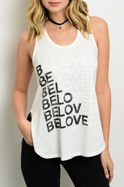 Cefian Beloved Tank Top - Front cropped