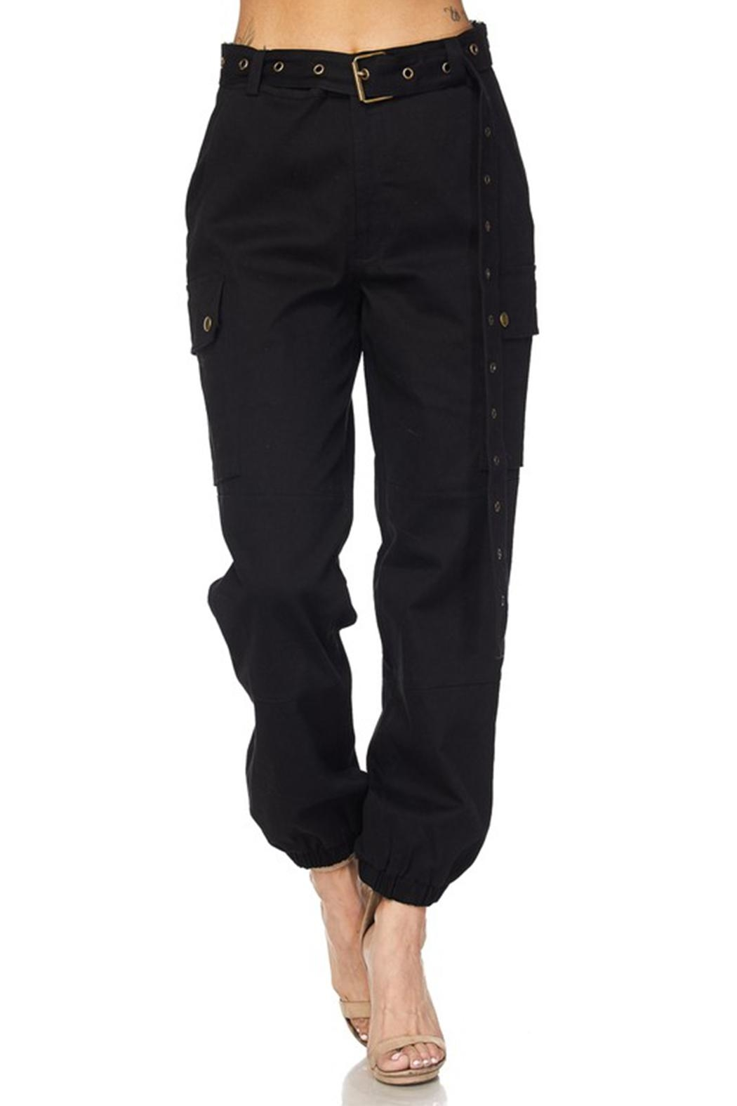hot and delicious Belted Cargo Pant - Front Full Image