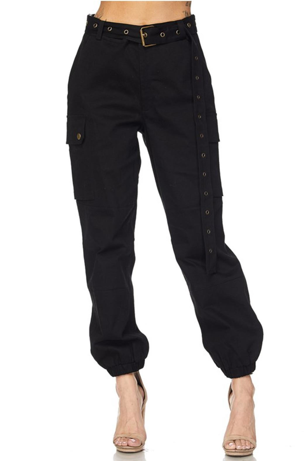 hot and delicious Belted Cargo Pant - Main Image