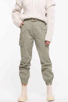 Mine Belted Cargo Pants - Product List Image
