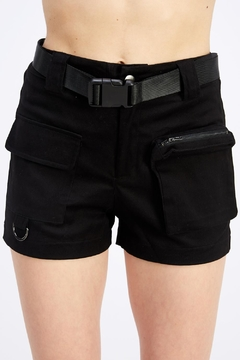 Shoptiques Product: Belted Cargo Shorts