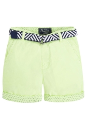 Mayoral Belted Chino Short - Front cropped