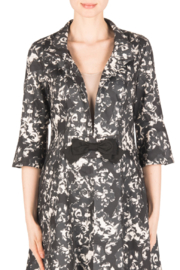 Joseph Ribkoff  Belted Coat with Bow at Front - Product Mini Image