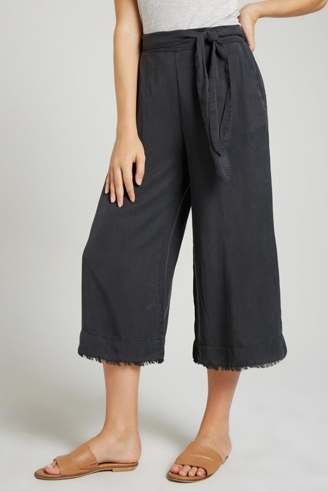 Bella Dahl Belted Crop Pant - Main Image