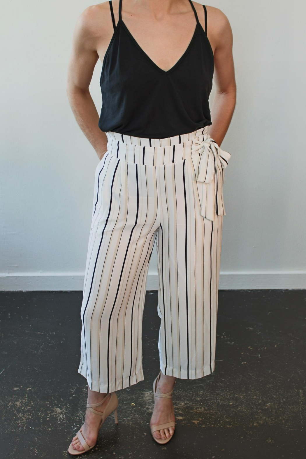 Veronica M Belted Culotte Luca - Main Image