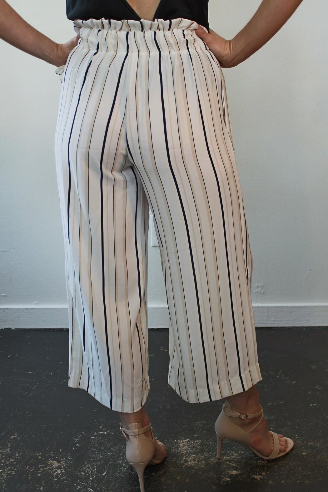 Veronica M Belted Culotte Luca - Front Full Image