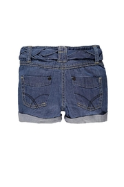 Kanz Belted Denim Short - Side cropped