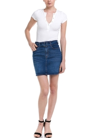 Love Tree Belted Denim Skirt - Product Mini Image