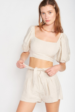 Emory Park Belted High Waist Short - Product List Image