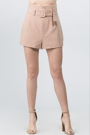 On Twelfth Belted High Waist Short - Product Mini Image