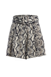 Renamed Clothing Belted High Waist Short - Product Mini Image