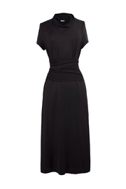 Helena Jones Belted Jersey Dress - Product Mini Image