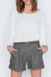 Milla Belted Linen Short - Product Mini Image