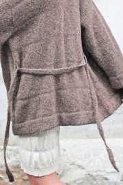 Wol Hide sweaters  Belted Long Cardigan - Back cropped