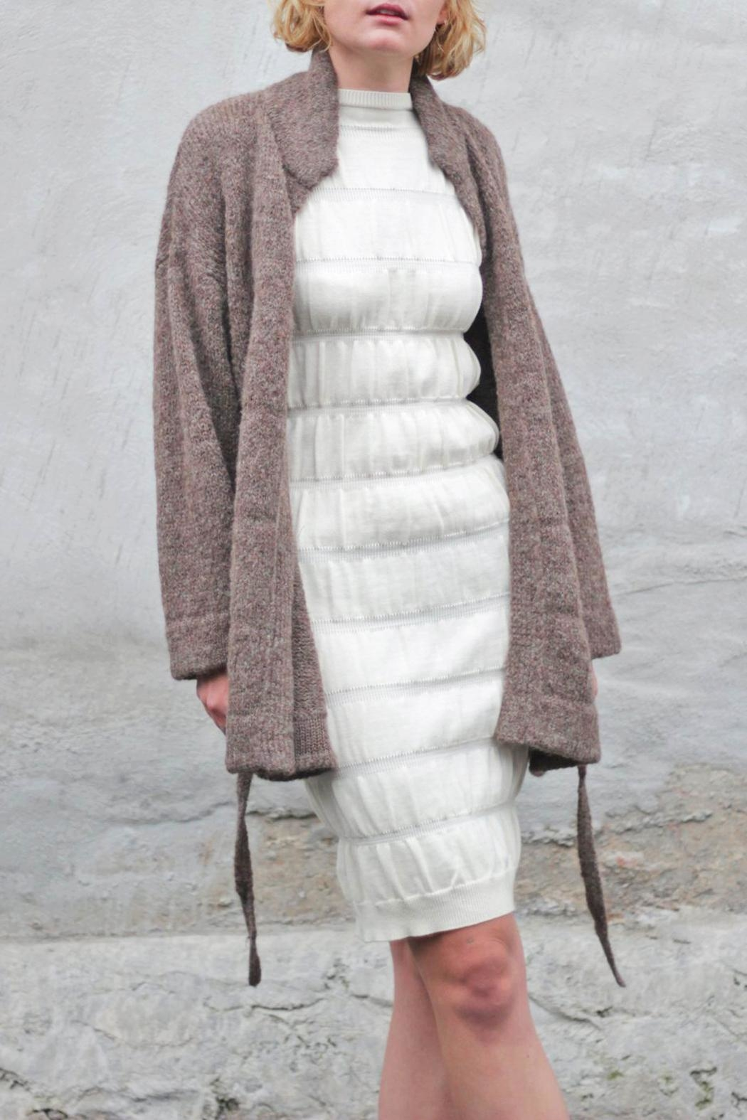 Wol Hide sweaters  Belted Long Cardigan - Main Image