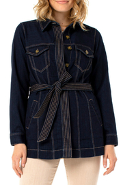 Liverpool  Belted Long Jacket - Product Mini Image