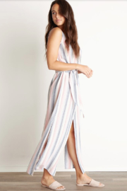 Bella Dahl Belted Maxi Dress - Front full body