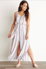 Bella Dahl Belted Maxi Dress - Front cropped