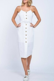 skylar madison Belted Midi Dress - Product Mini Image
