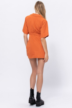 the clothing company Belted Mini Dress - Alternate List Image