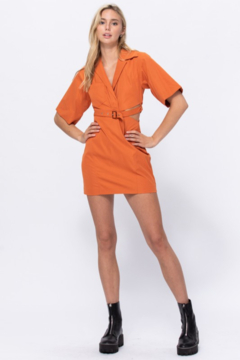 the clothing company Belted Mini Dress - Product List Image