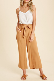 In Loom Belted Paper Bag Pant - Product Mini Image