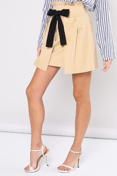 Shoptiques Product: Belted Paperbag Skirt