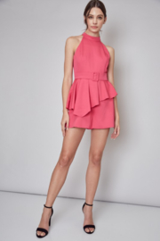 Do + Be  Belted Peplum Romper - Other