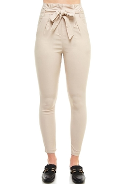Shoptiques Product: Belted Skinny Pants