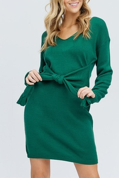 Venti 6 Belted Sweater Dress - Product List Image