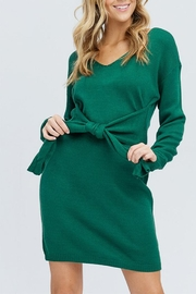 Venti 6 Belted Sweater Dress - Product Mini Image