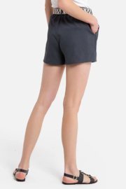 See U Soon Belted Texture Short - Side cropped