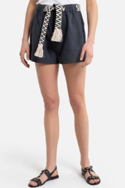 See U Soon Belted Texture Short - Product Mini Image