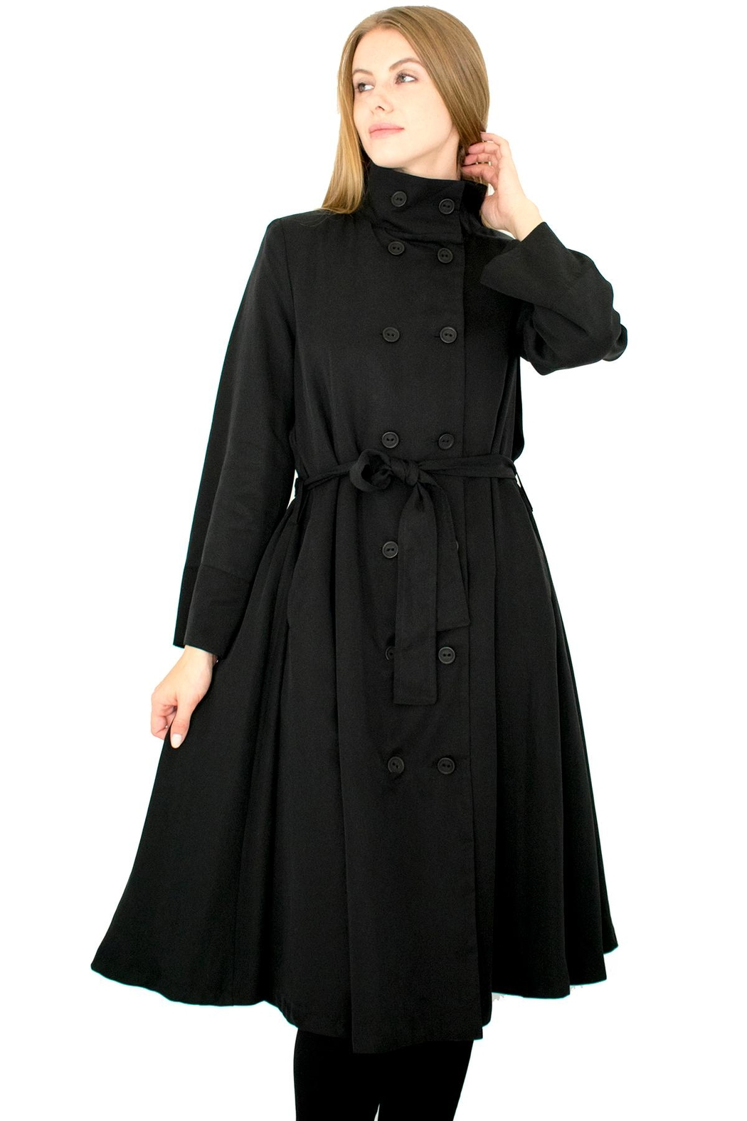 Ronen Chen Belted Trench - Front Full Image