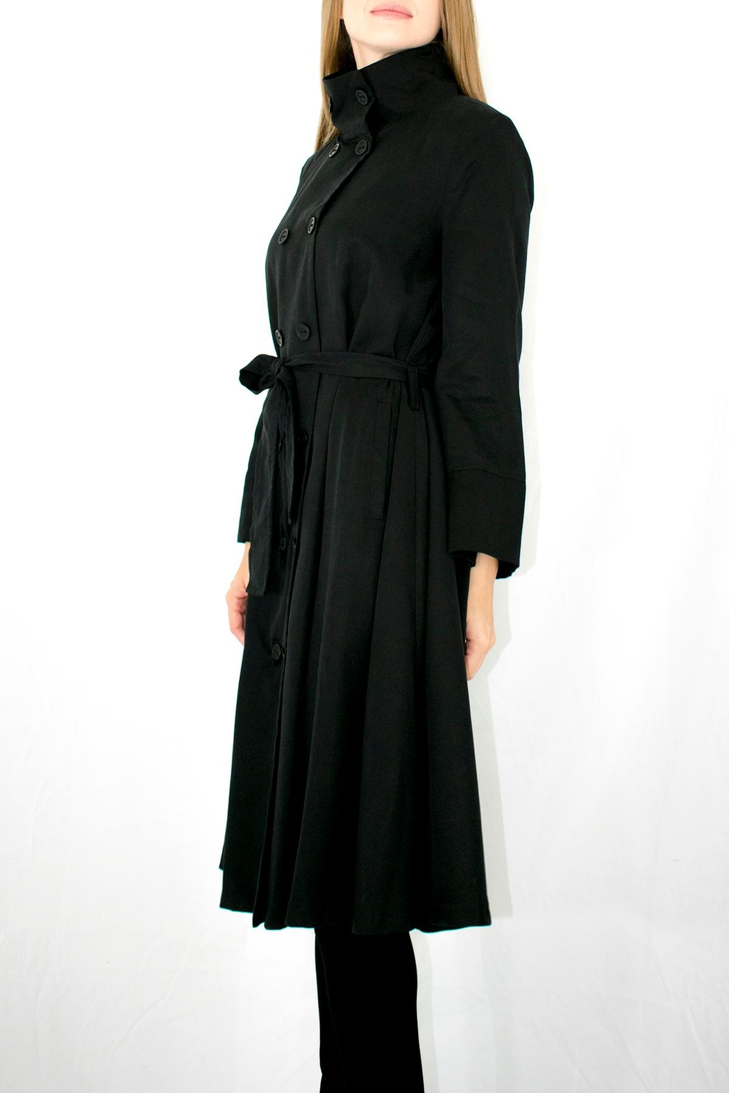 Ronen Chen Belted Trench - Side Cropped Image