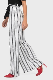 Joseph Ribkoff Belted Wide-Leg Pant - Front full body