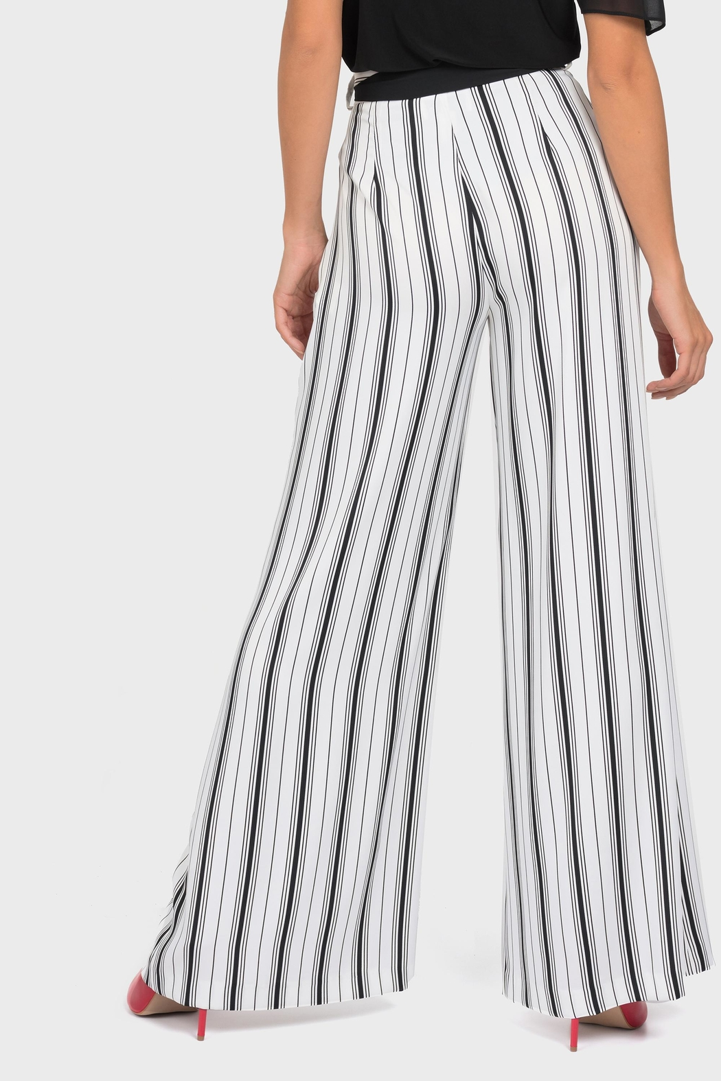Joseph Ribkoff Belted Wide-Leg Pant - Side Cropped Image