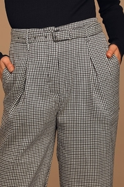 Moon River Belted Wide Leg Trouser - Front full body