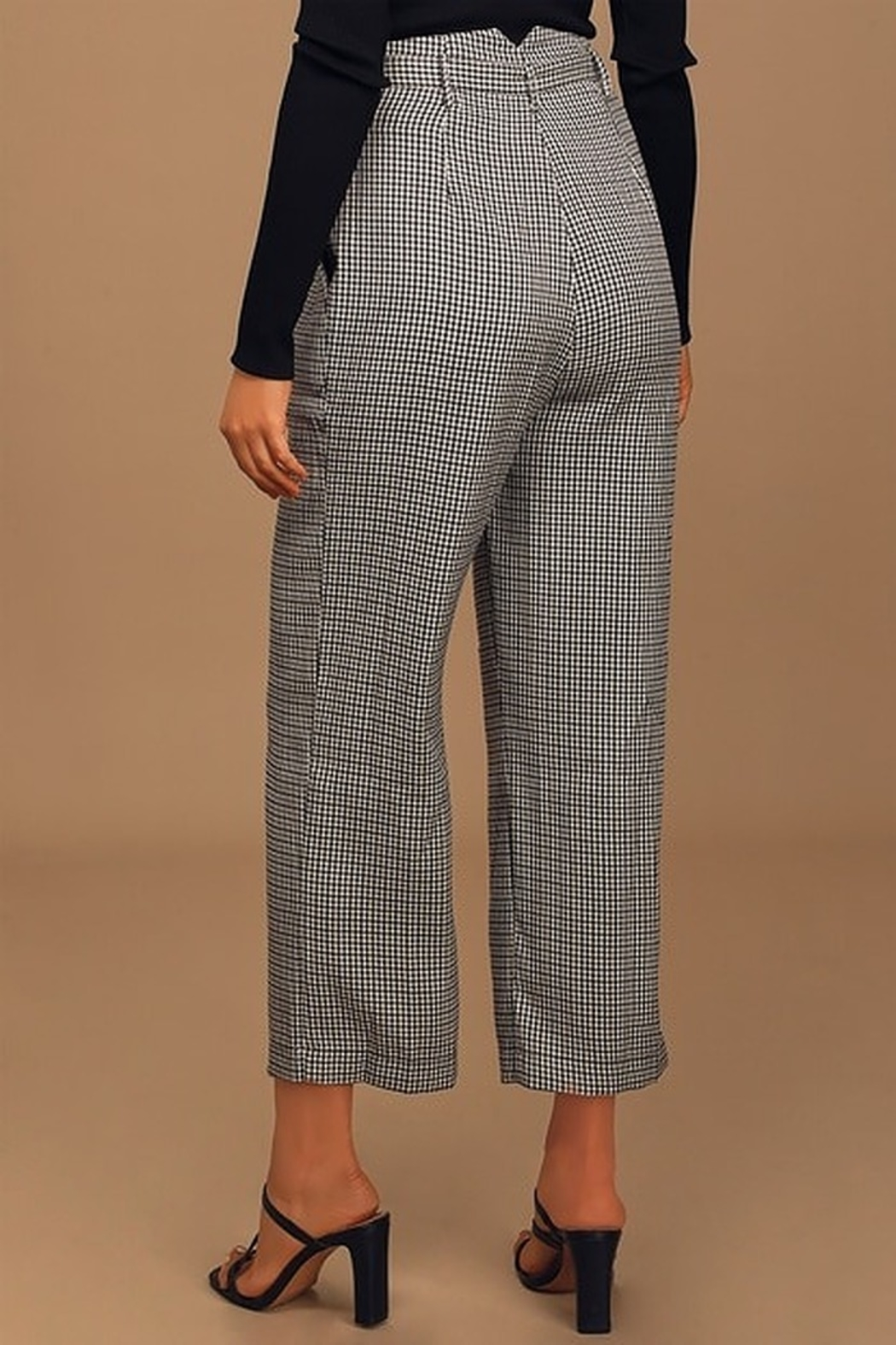 Moon River Belted Wide Leg Trouser - Side Cropped Image